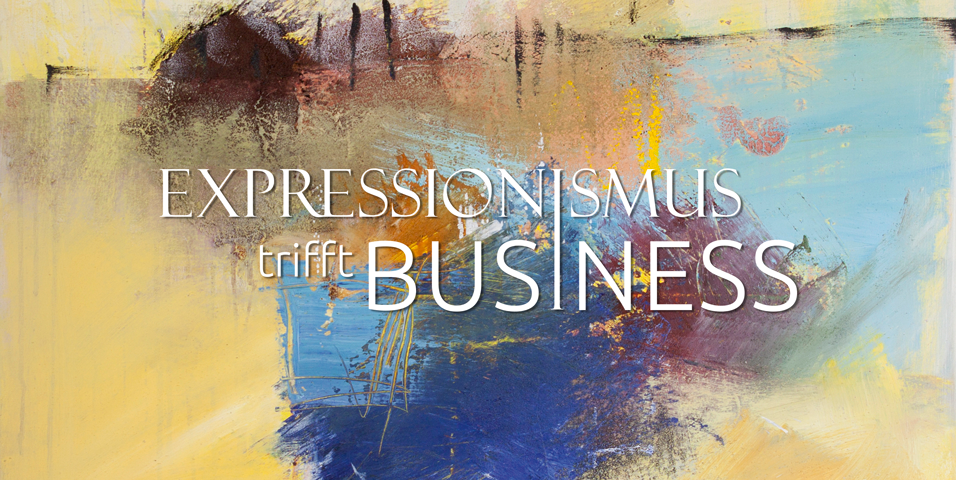 Logo Expressionismus trifft Business